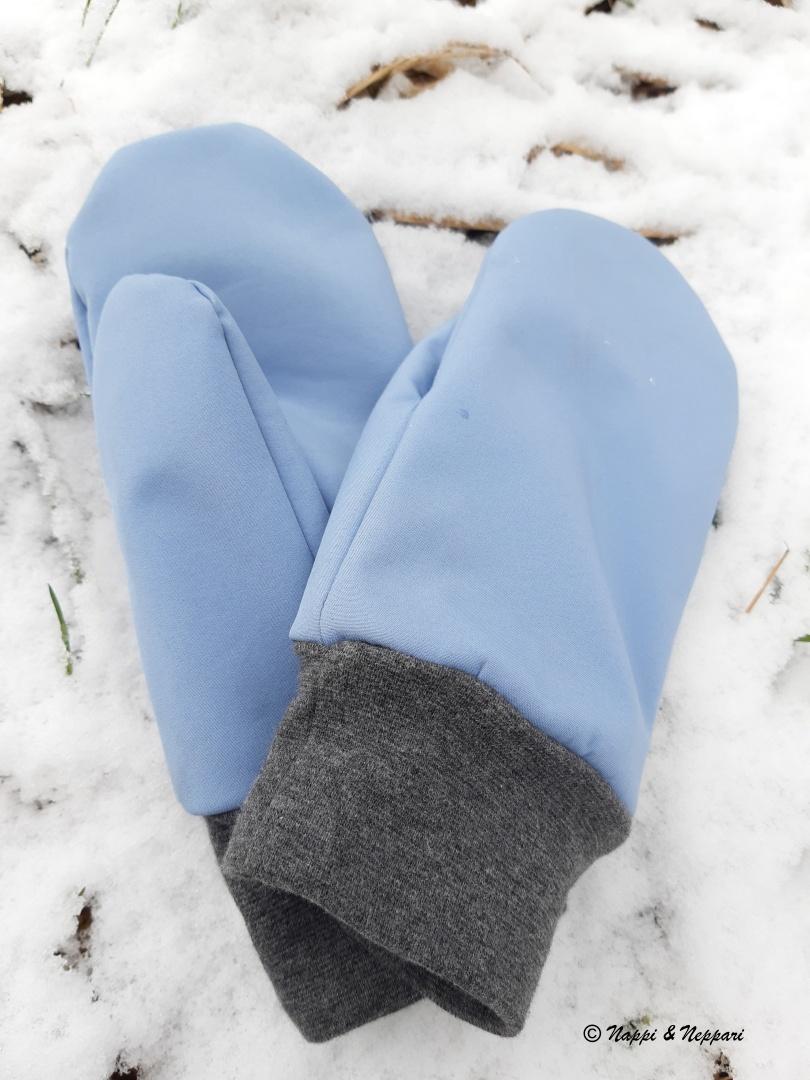 Rukkaset lumella.